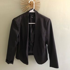 Forever 21 black blazer sz s